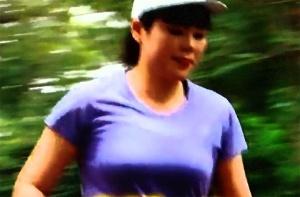 ブルゾンちえみのマラソンでバスト下垂?