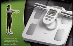 全身を計測する体脂肪計